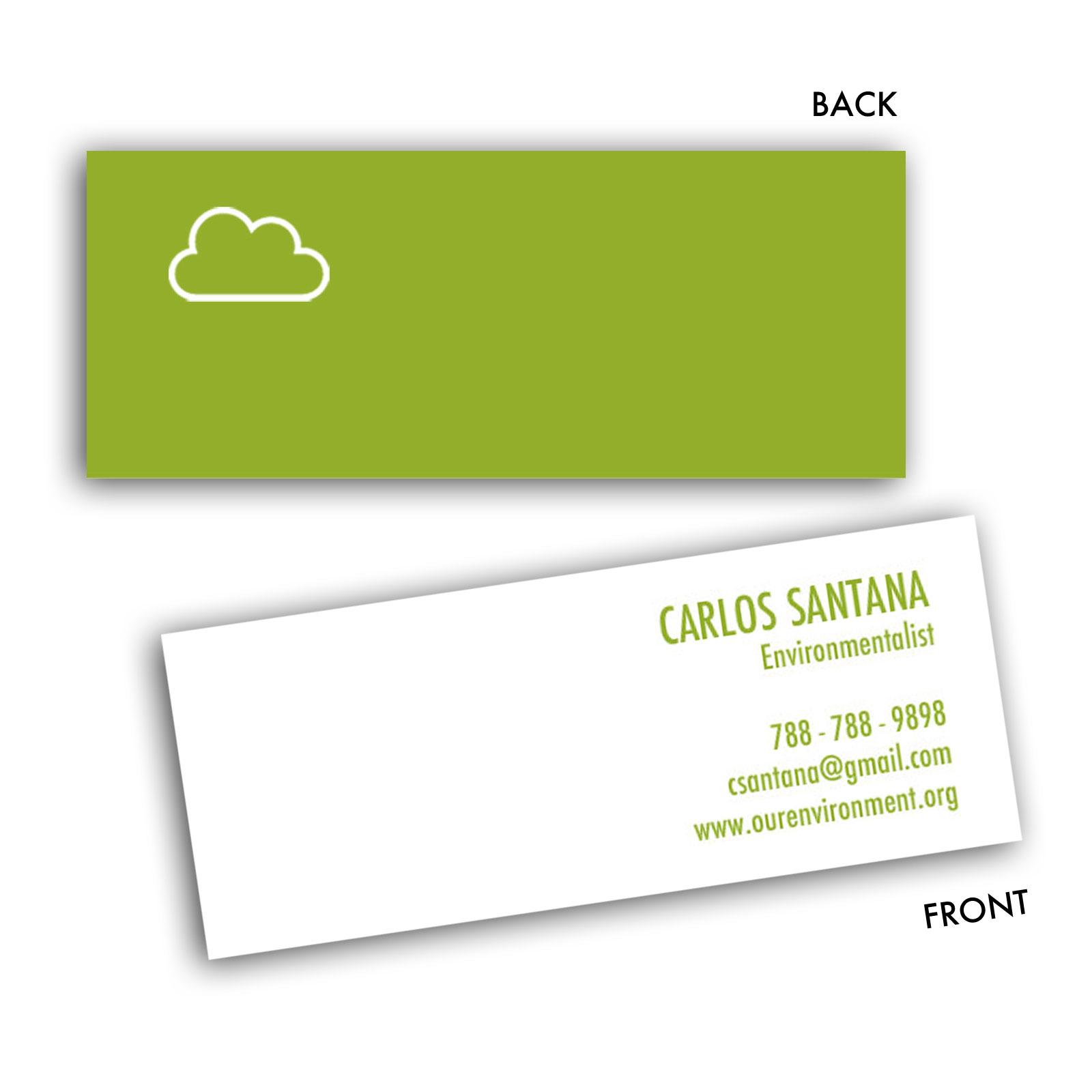 CLOUD: MINI BUSINESS CARD - Creative Solutions Studio