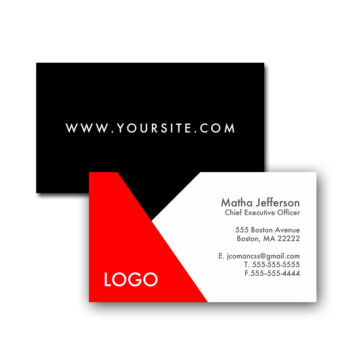 standard business card designs - Standard Business Card