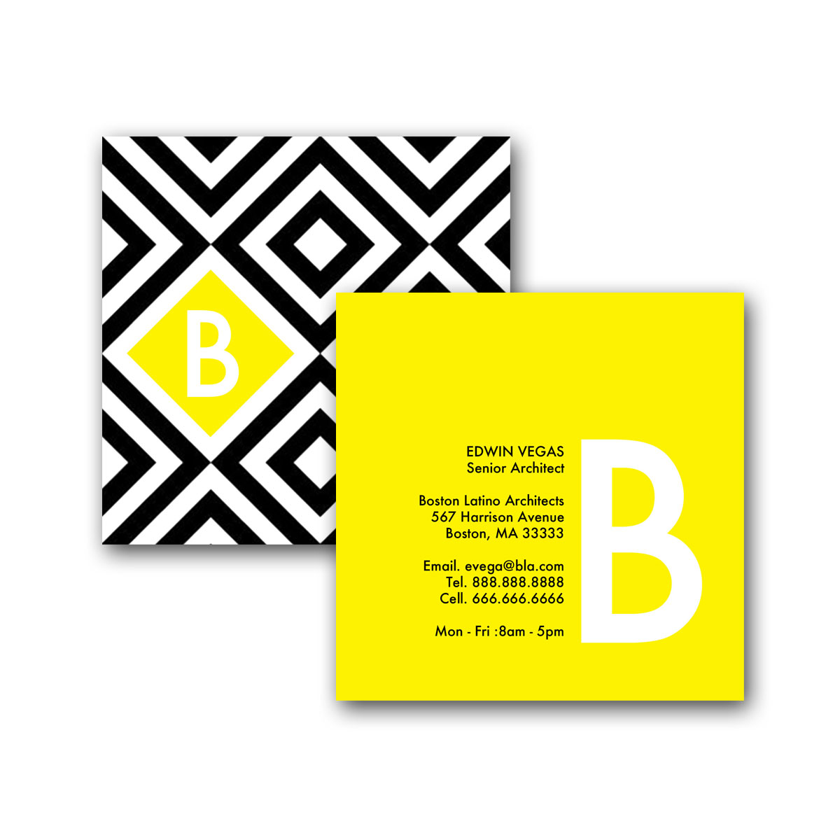 Squares in a square square business card creative solutions studio home business cards square business card designs squares in a square square business card colourmoves